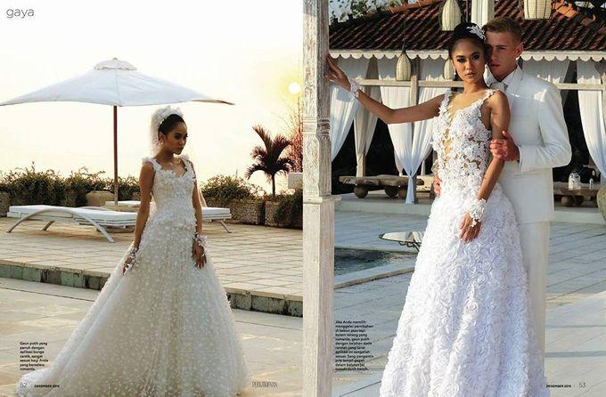 Wedding by Dendy Oktariady Make Up Artist by Ali Charisma - 006