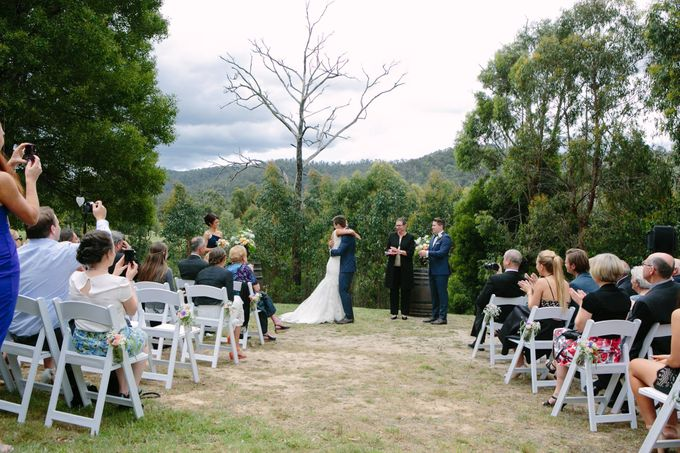Wedding at Yarra Valley Estate by Ann Flockhart Authorised Marriage Celebrant - 001