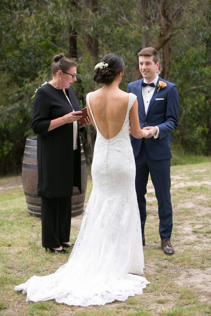 Wedding at Yarra Valley Estate by Ann Flockhart Authorised Marriage Celebrant - 002