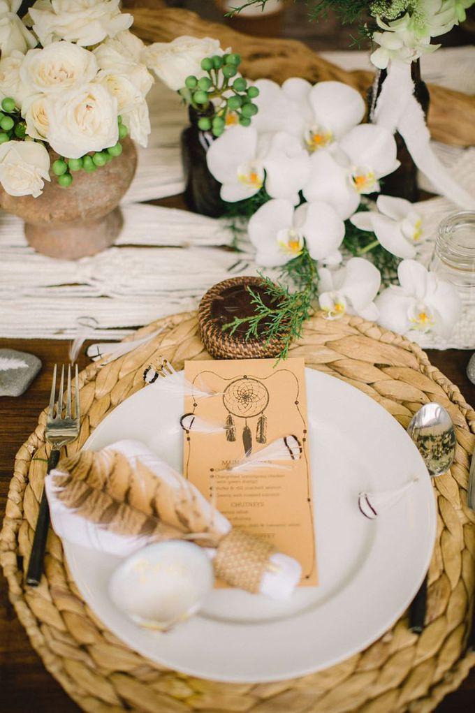 Catch Your Dreams Boho Wedding by Hari Indah Wedding Planning & Design - 035