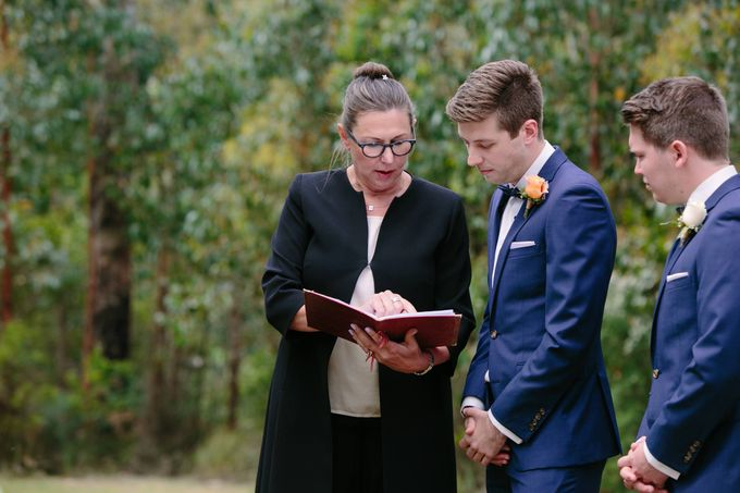 Wedding at Yarra Valley Estate by Ann Flockhart Authorised Marriage Celebrant - 003