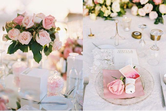 Adit & Celine Modern Ombre Wedding by Flying Bride - 014