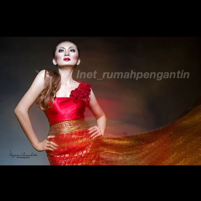 Gaun Modern Tradisional by Inet Rumah Pengantin - 011