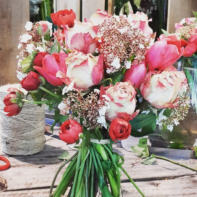 Bridal Hand Bouquet by Petite Fleur SG - 022