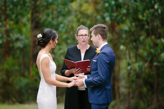 Wedding at Yarra Valley Estate by Ann Flockhart Authorised Marriage Celebrant - 005