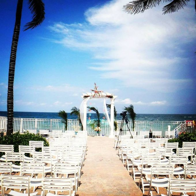 Outdoor Wedding Set up by Ocean Sky Hotel & Resort - 005