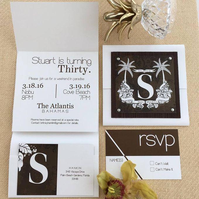 Danielle Behar Designs Invitationer by Danielle Behar Designs - 008