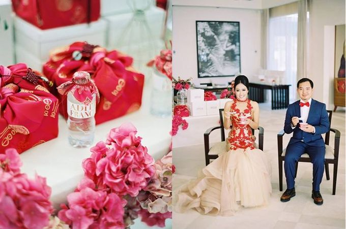 Adit & Celine Modern Ombre Wedding by Flying Bride - 020