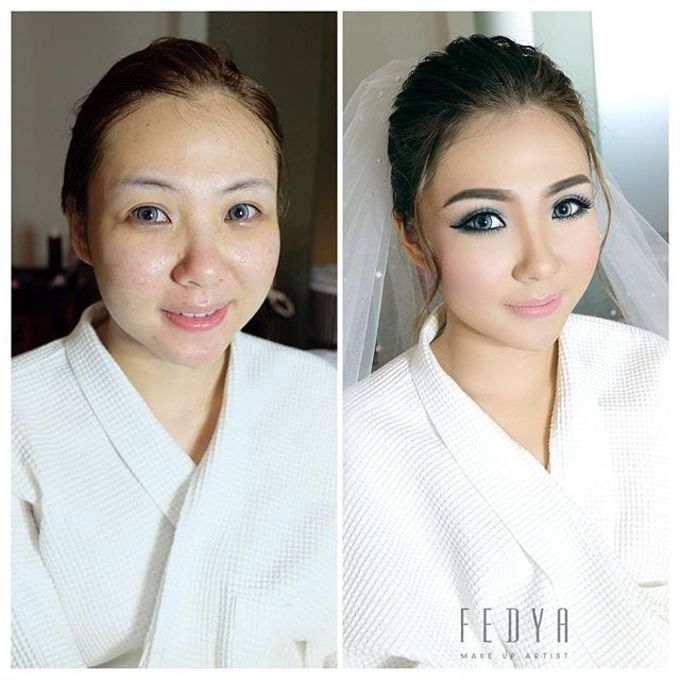 Before - After ( 2 )  by Fedya Make Up Artist - 007