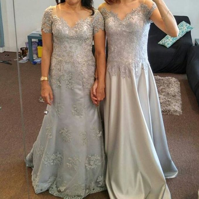 Mom  and sister gown by SAVORENT Gown Rental - 007