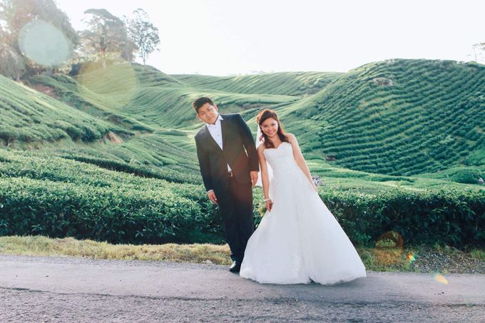 C & MG pre-wedding photoshoot gown rental
