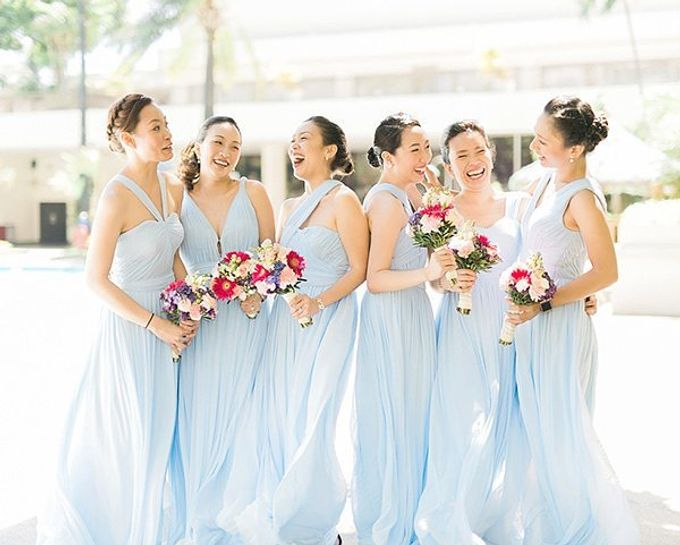 Customized Bridesmaids Dresses by White Label Bridal - 016
