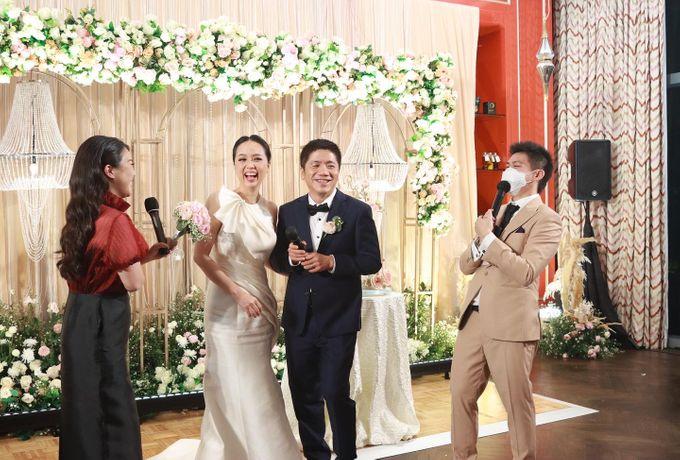 Fine Dinning Intimate entertainment wedding at Alto Restaurant Four Seasons Jakarta - Double V Entertainment by Hian Tjen - 012