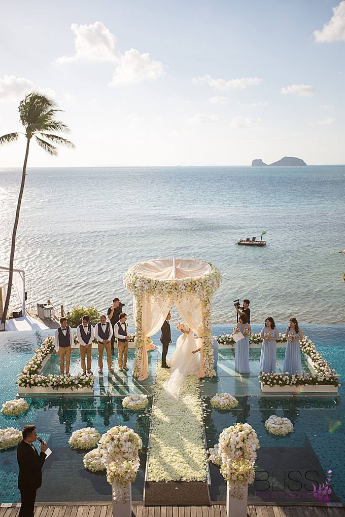 Luxury wedding of Vicky & Song at Conrad Koh Samui by BLISS Events & Weddings Thailand - 003