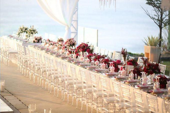 Adit & Celine Modern Ombre Wedding by Flying Bride - 016