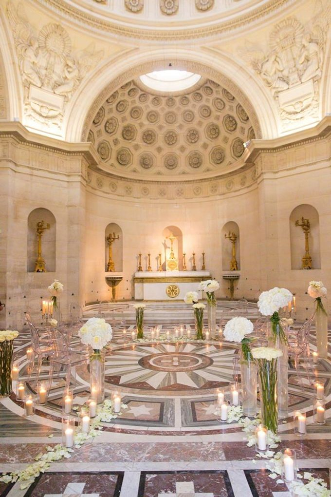 Real Wedding of Meredith & Gabe by Luxe Paris Events - 003