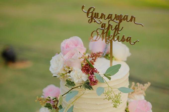 Gunawan & Melisa Wedding by K.pastries - 001