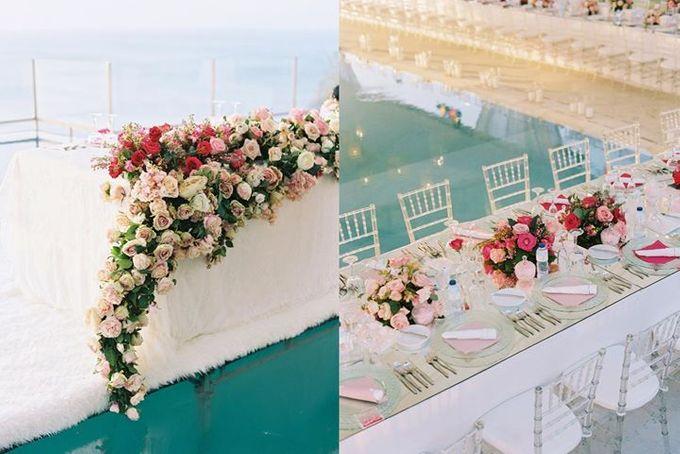 Adit & Celine Modern Ombre Wedding by Flying Bride - 012
