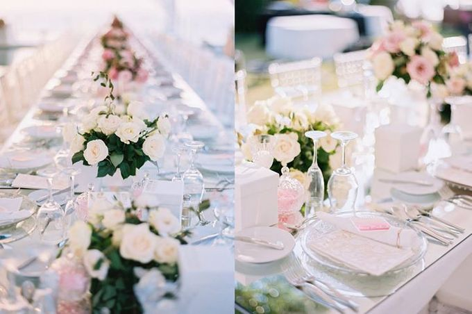 Adit & Celine Modern Ombre Wedding by Flying Bride - 011