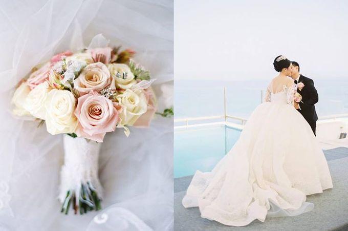 Adit & Celine Modern Ombre Wedding by Flying Bride - 007