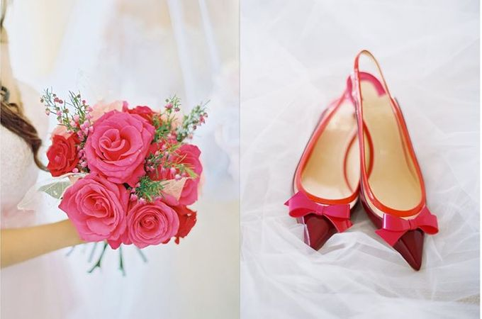 Adit & Celine Modern Ombre Wedding by Flying Bride - 004