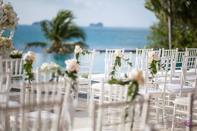 Luxury wedding of Vicky & Song at Conrad Koh Samui by BLISS Events & Weddings Thailand - 007