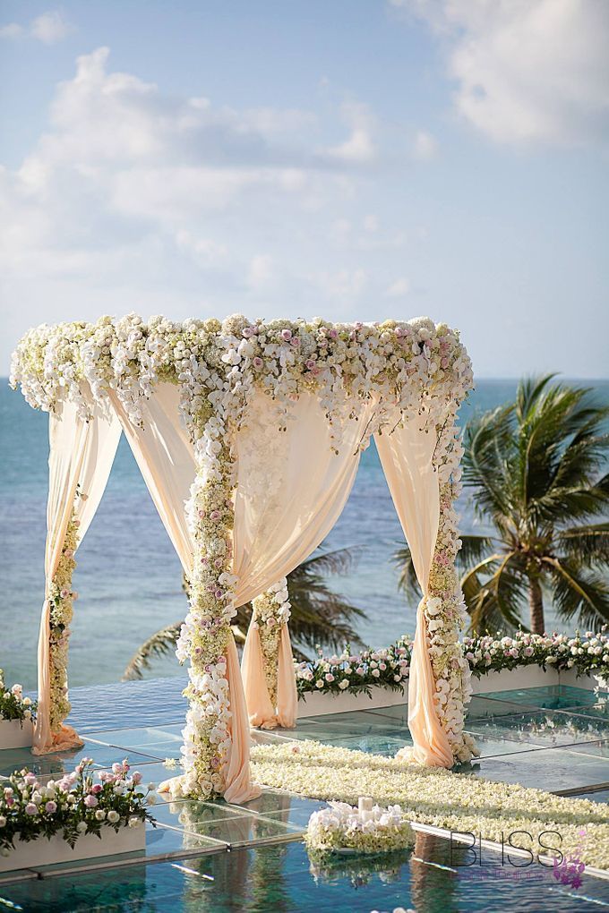 Luxury wedding of Vicky & Song at Conrad Koh Samui by BLISS Events & Weddings Thailand - 002