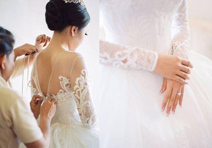 Adit & Celine Modern Ombre Wedding by Flying Bride - 005