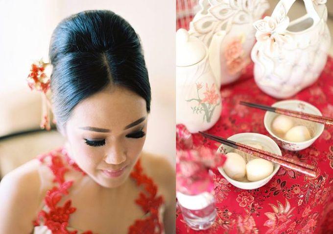 Adit & Celine Modern Ombre Wedding by Flying Bride - 019