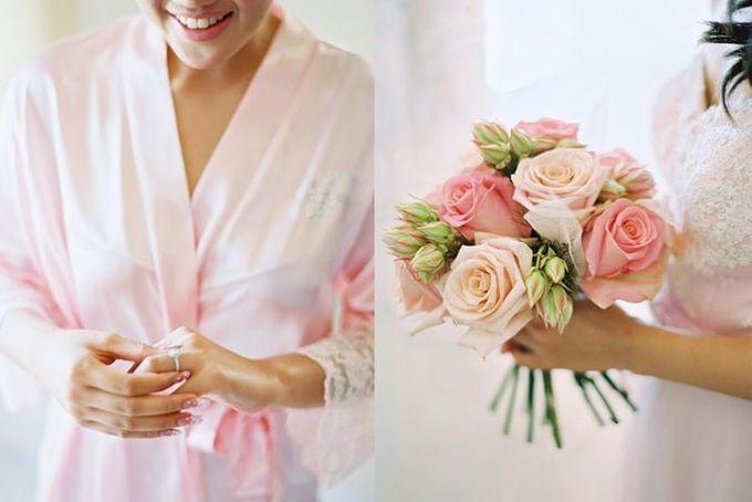 Adit & Celine Modern Ombre Wedding by Flying Bride - 003