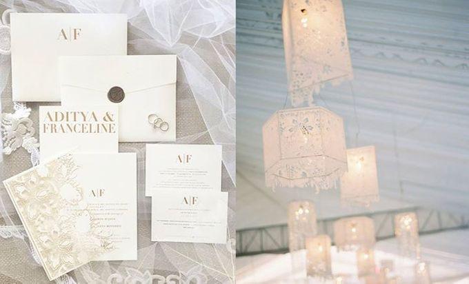 Adit & Celine Modern Ombre Wedding by Flying Bride - 001