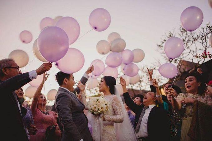 Steven & Aie Enchanted Garden Wedding by Flying Bride - 036