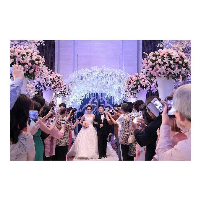 Lukman & Vylen Wedding by Imelda Hudiyono Bride - 006