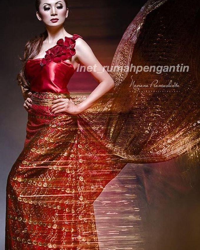 Gaun Modern Tradisional by Inet Rumah Pengantin - 012