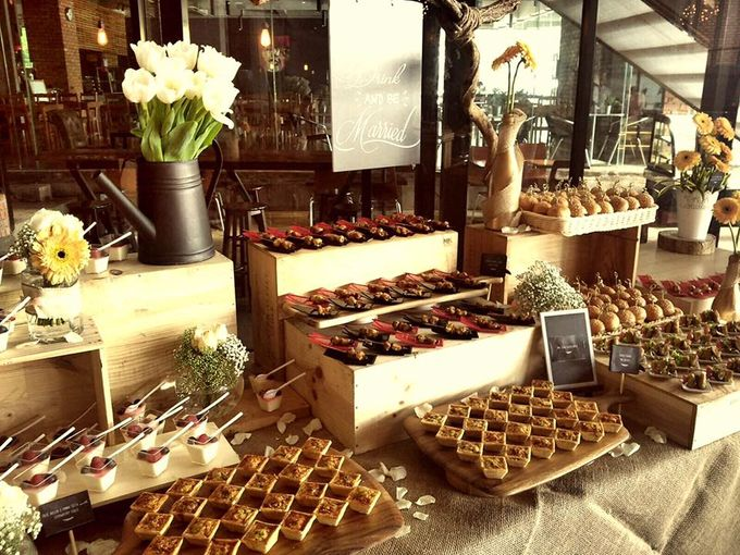 Rustic Theme Wedding Reception By Big Onion Food Caterer Sdn Bhd