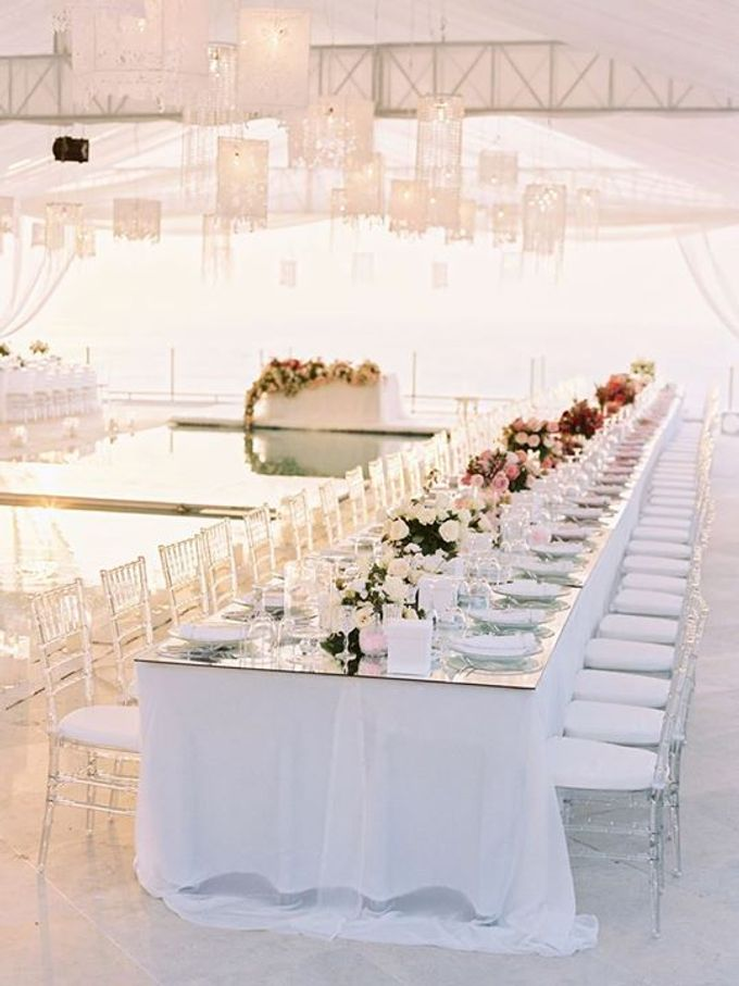Adit & Celine Modern Ombre Wedding by Flying Bride - 010
