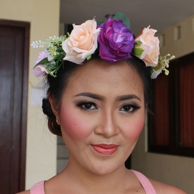 Prewedding makeup for Novia by Makeup by Heny - 001