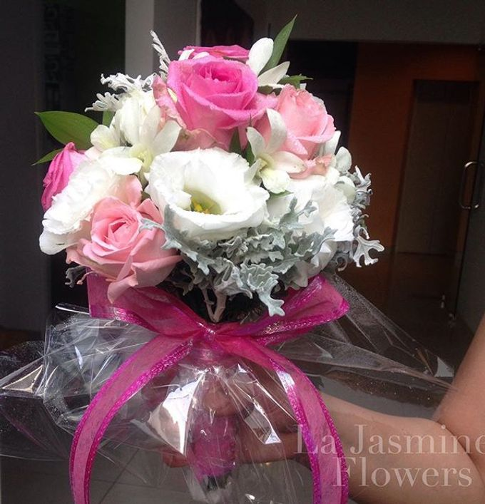 Flower basket  by La Jasmine Floral Design - 021