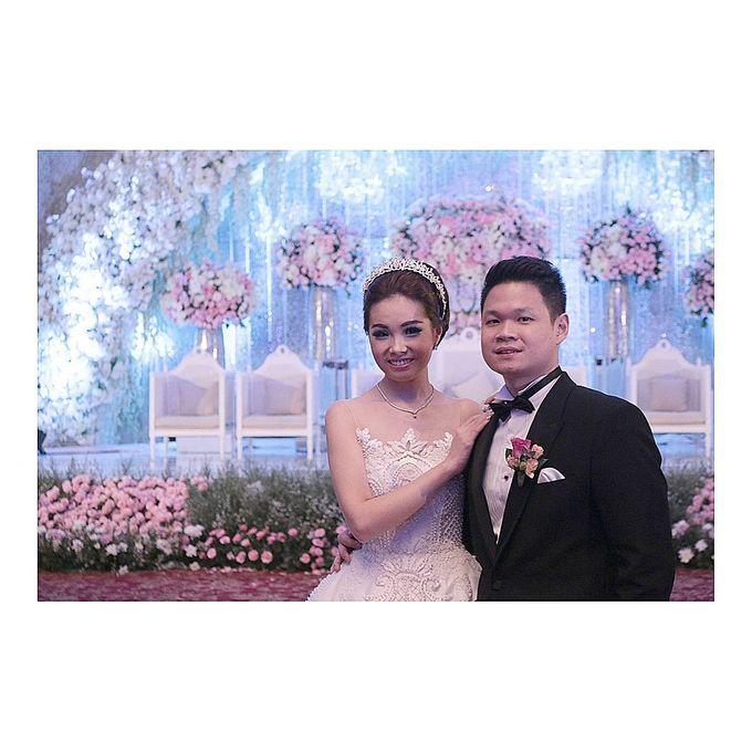 Lukman & Vylen Wedding by Imelda Hudiyono Bride - 005