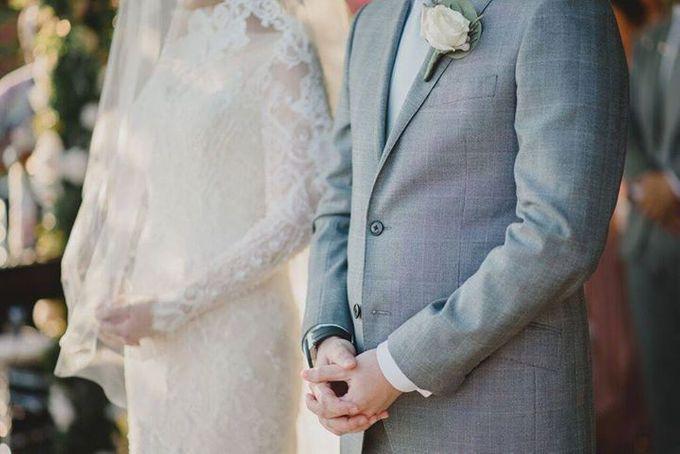 Steven & Aie Enchanted Garden Wedding by Flying Bride - 029