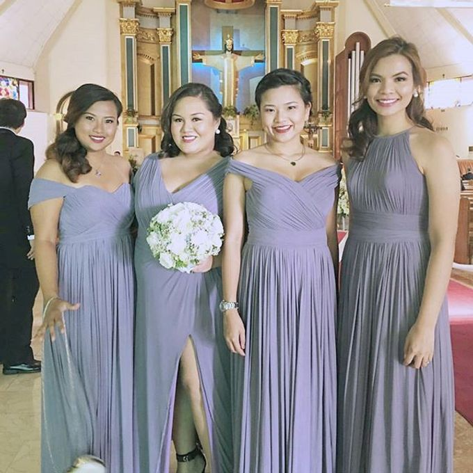 Customized Bridesmaids Dresses by White Label Bridal - 019