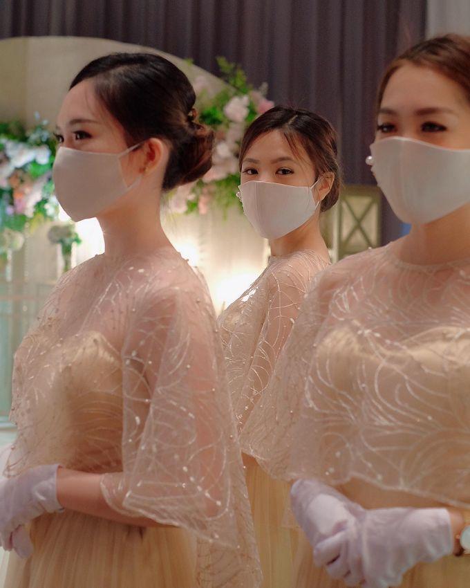 New normal wedding  by STILETTO PAGAR AYU - 047