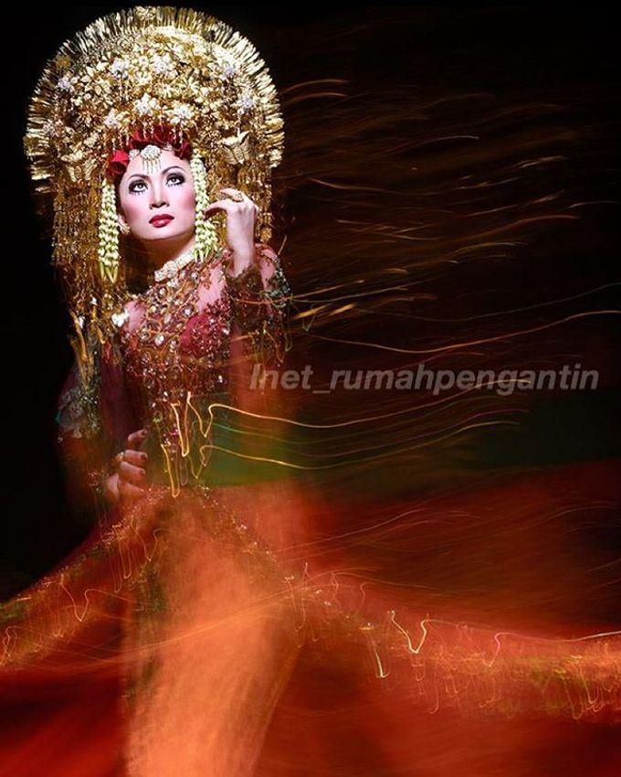 Gaun Modern Tradisional by Inet Rumah Pengantin - 013