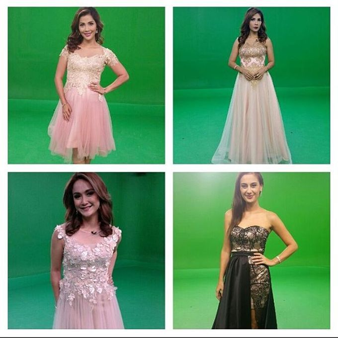 TV and Media appearance for our gowns by SAVORENT Gown Rental - 011
