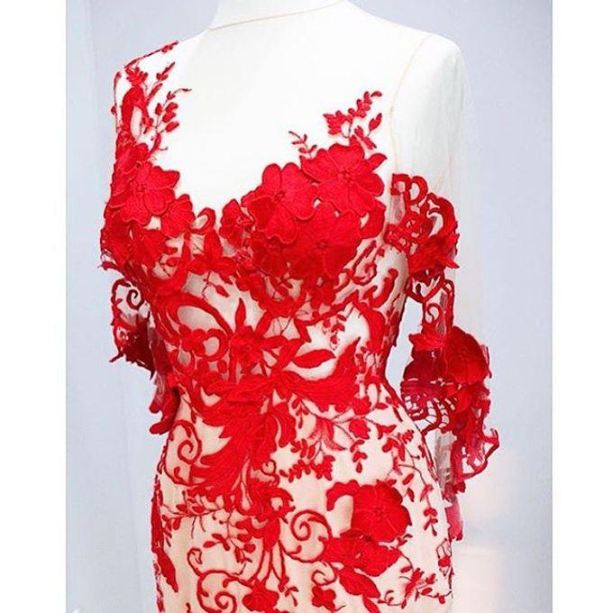 NEW ARRIVALS -EVENING DRESS by LAMIIK BRIDAL - 022