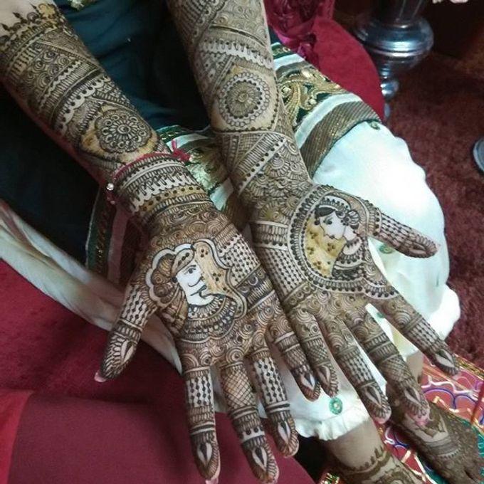Bridal Henna - Intricate by Nakreze Mehndi - 032