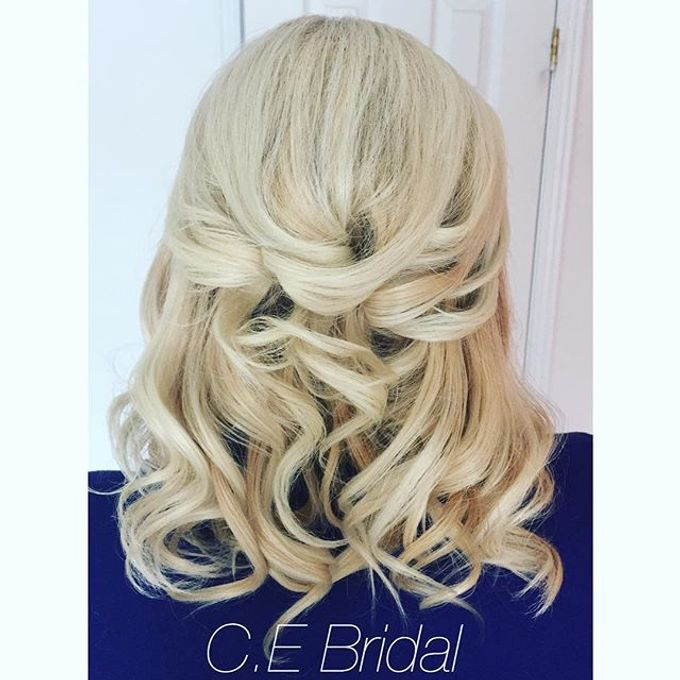 Hairstyles  by C.E Bridal - 010