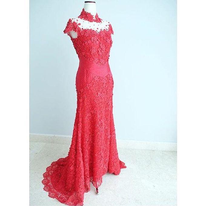 NEW ARRIVALS -EVENING DRESS by LAMIIK BRIDAL - 025
