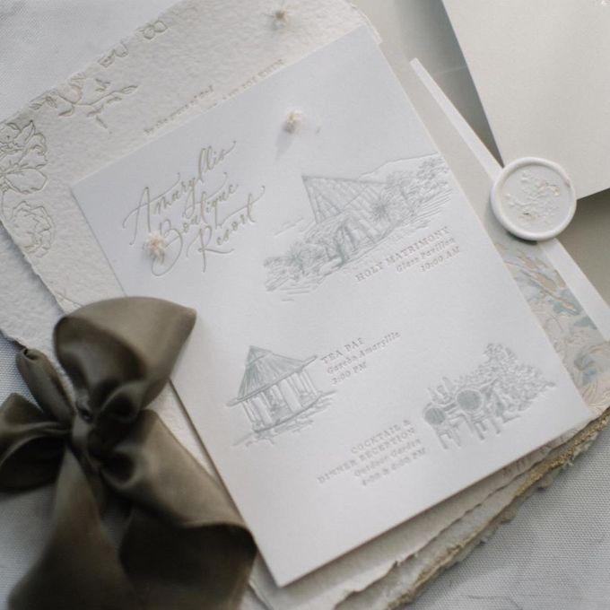 White Rustic Invitation by Pensée invitation & stationery - 002