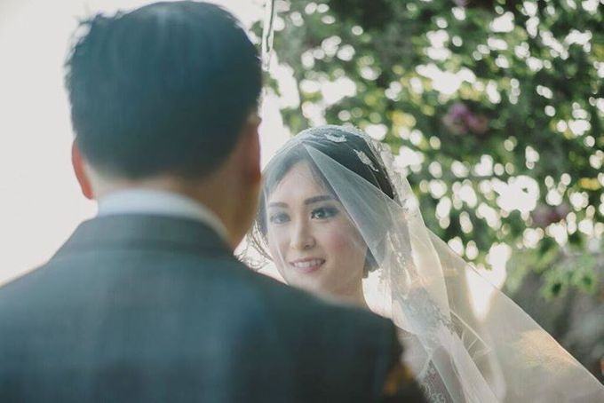 Steven & Aie Enchanted Garden Wedding by Flying Bride - 032